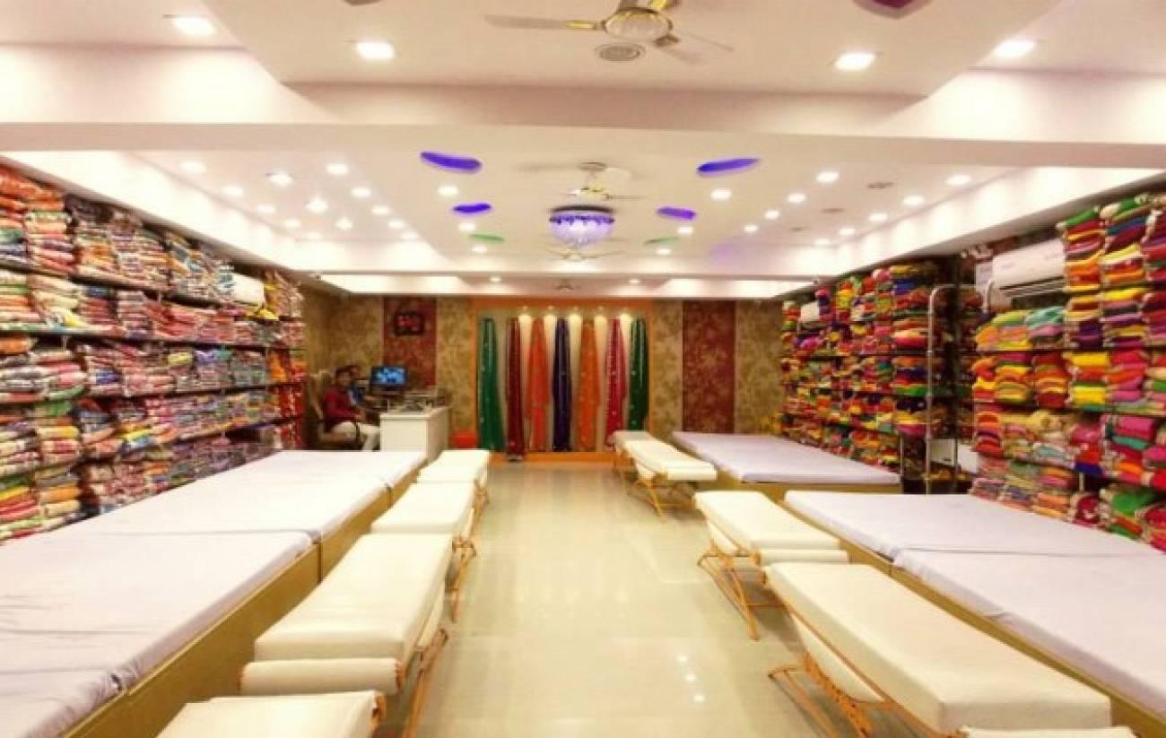 Interior Design Ideas For Saree Shop