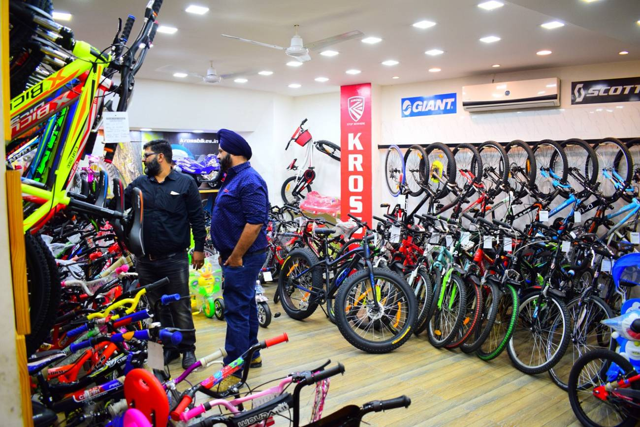 Cycle stores in Udaipur