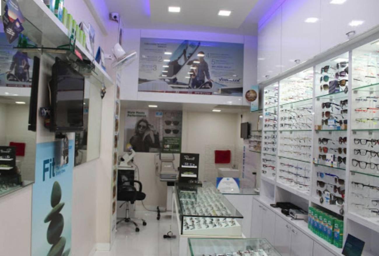 viresh optics  optical showroom mumbai  shopping bazar. viresh optics