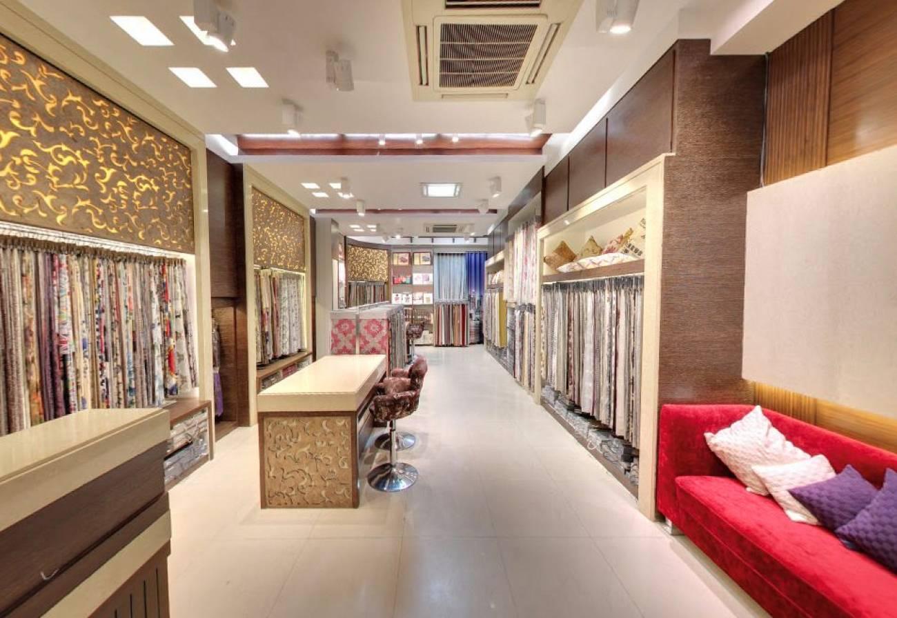 False Ceiling At Watch Showroom Jaipur Designed